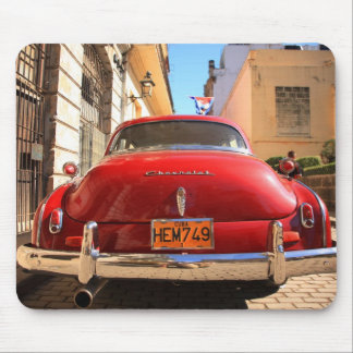 Red Chevrolet Mouse Pad