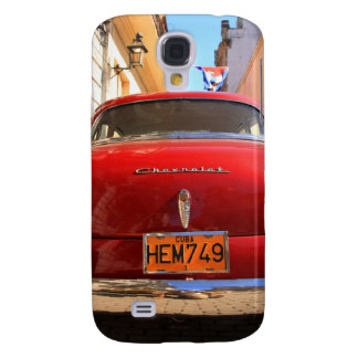Red Chevrolet Samsung Galaxy S4 Cover