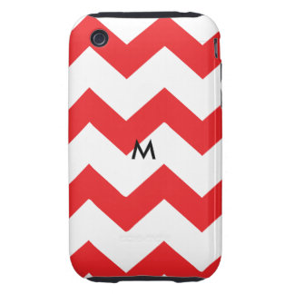 Red Chevron iPhone 3 Tough Covers