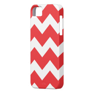 Red Chevron  iPhone 5 Case