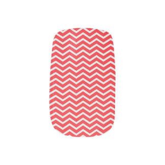 Red chevron minx ® nail wraps