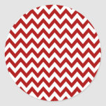 Red Chevron Stickers