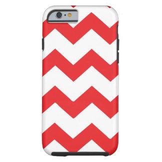 Red Chevron Tough iPhone 6 Case