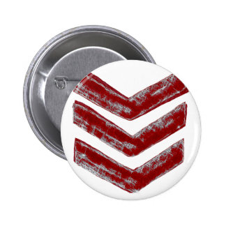 Red Chevrons 2 Inch Round Button