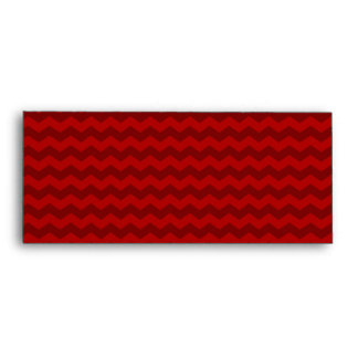 red chevrons envelope