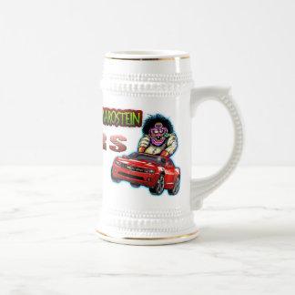 Red Chevy Camaro RS Stein - White/Gold Coffee Mug