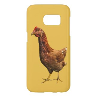 Red Chicken Hen Bird Samsung Galaxy S7 Case