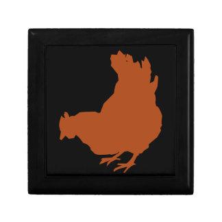 Red Chicken Hen Gift Box