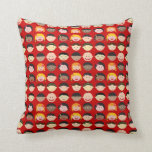 Red Children Kids of Many Cultures Pillow