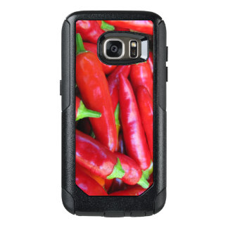 Red Chili Hot Peppers OtterBox Galaxy S7 Case