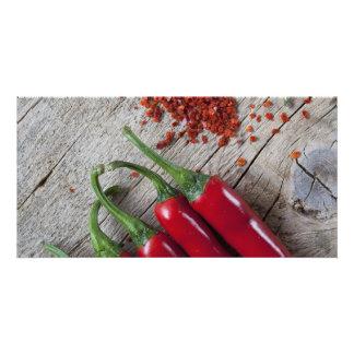Red Chili Pepper Card
