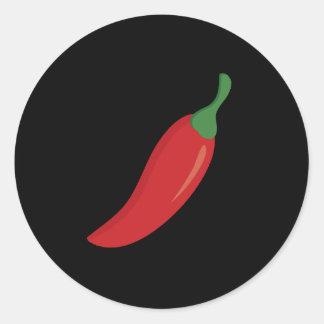 Red Chili Pepper Classic Round Sticker