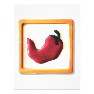 Red Chili Pepper Letterhead