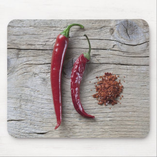 Red Chili Pepper Mouse Pads