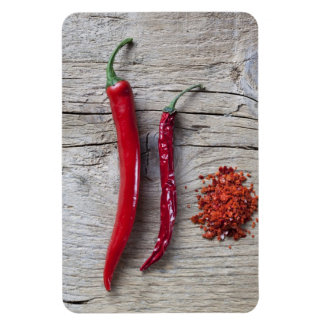 Red Chili Pepper Flexible Magnets