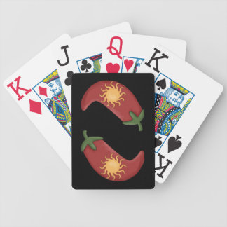 Red Chili Peppers - Chile Rellenos Bicycle Playing Cards