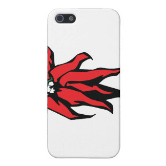 Red Chili Peppers On a String Graphic Covers For iPhone 5