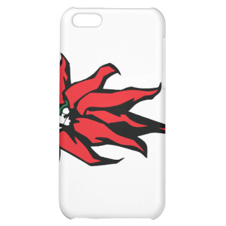 Red Chili Peppers On a String Graphic iPhone 5C Cover