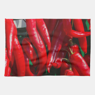red chili towel