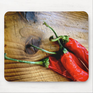 Red Chilies Mouse Pads