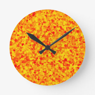 Red Chilli Gravy PRINT Template Add Text Img GIFTS Round Wall Clock