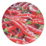 Red Chilli Peppers Plates