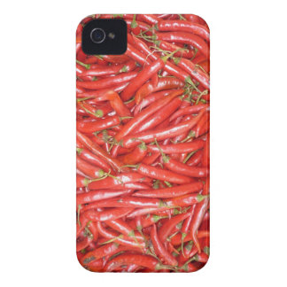 red chillies Case-Mate iPhone 4 cases