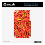 Red Chilli's iPod Touch 4G Skins