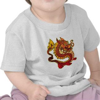 Red Chinese Dragon Infant T-Shirt