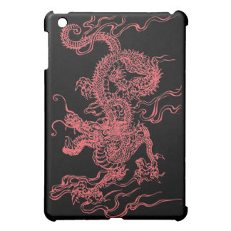 Red Chinese Dragon  iPad Mini Cases