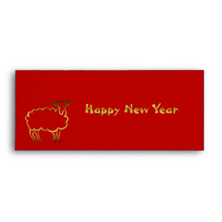 Red Chinese New Year Money Envelope