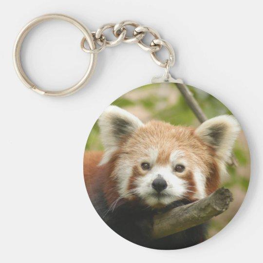 red-chinese-panda10x10 keychain