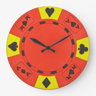 Red Chip Clock