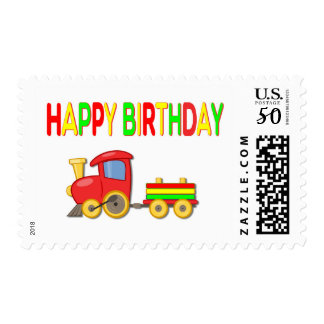 Red Choo-Choo Train Postage