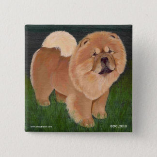 Red chow Button