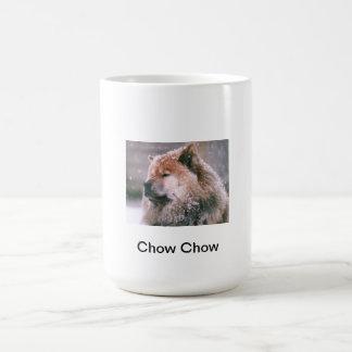 Red Chow Chow Classic White Coffee Mug