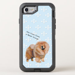 OtterBox Apple iPhone 7 Symmetry Case with Chow Chow Phone Cases design