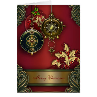 Red Christian Christmas Cards
