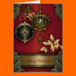 Red Christian Christmas Cards Card