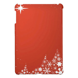 Red Christmas Background iPad Mini Cases