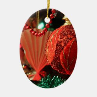 Red Christmas Ball Christmas Ornament