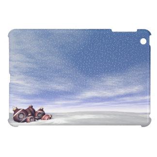 Red Christmas balls - 3D render iPad Mini Covers