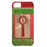 Red Christmas bauble iPhone 5C Cases