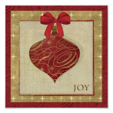 Christmas Themed Red Christmas Decoration Peace