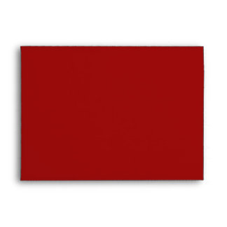 Red Christmas Holiday Greeting Card Envelope Envelopes