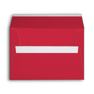 Red Christmas Holiday Greeting Card Envelopes Envelope