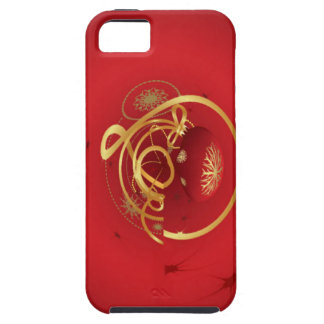 Red Christmas Jingle Bells Have a Blessed Nice Day iPhone 5 Covers
