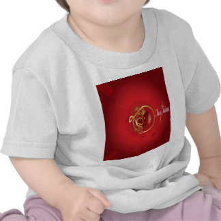 Red Christmas Jingle Bells Have a Blessed Nice Day Tee Shirts