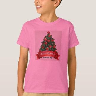 Red Christmas Kids Tshirt