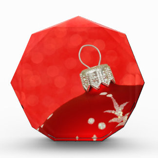 Red Christmas Ornament Awards